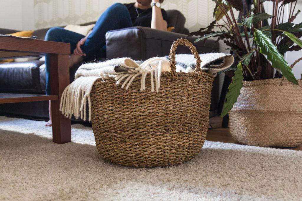 Domácí pohoda v obývacím pokoji